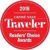 Reader's Choice Awards 2018 by Conde Nast Traveler