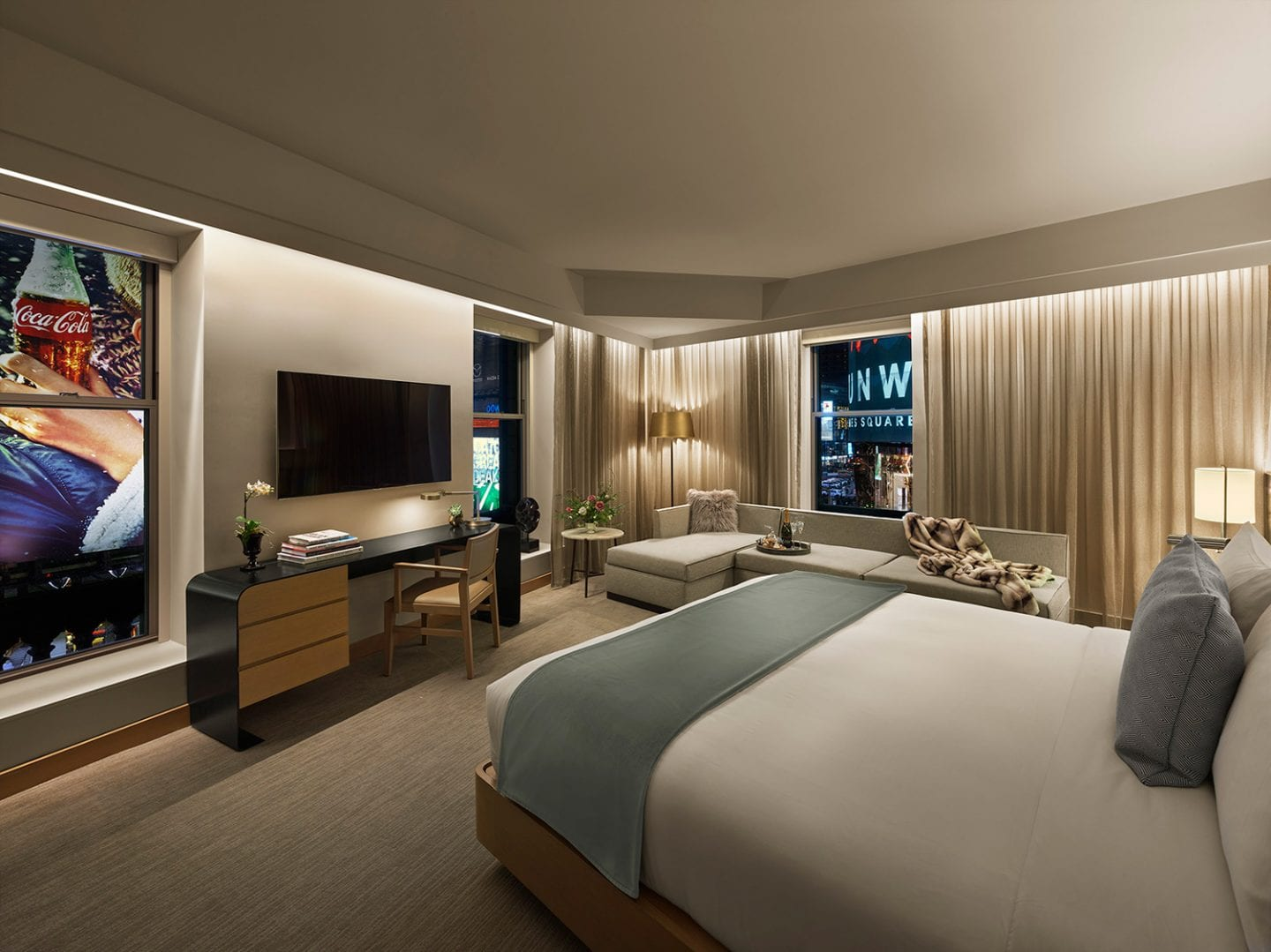 Luxury Times Square Hotel Suites In Nyc The Knickerbocker Hotel