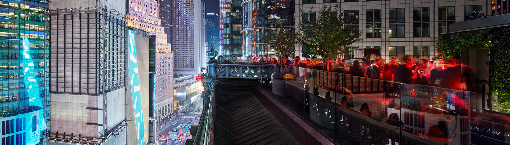 St  Cloud Rooftop Bar in Times Square NYC | The Knickerbocker