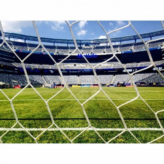 Copa America in NYC during summer 2016. Photo by @mlstadium.