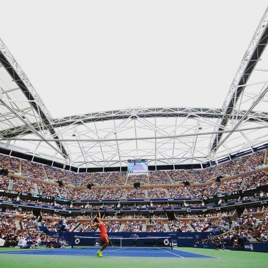 The US Open returns to NYC every summer. Photo by @usopen.