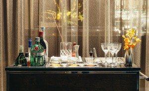 Knickerbocker martini cart.