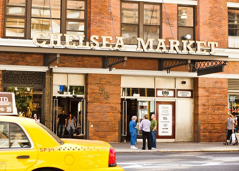 Chelsea Market in Manhattan NYC