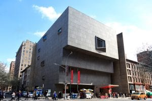 Exterior view of the Met Breuer annex at The Museum of Modern Art