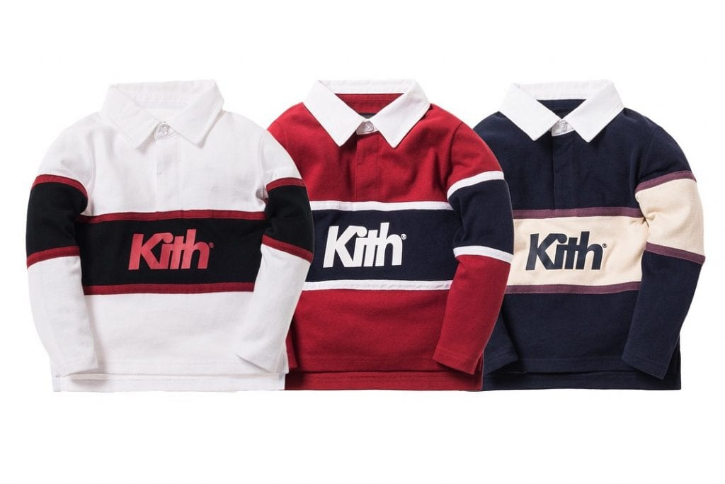 children's rugby shirts with the word KITH