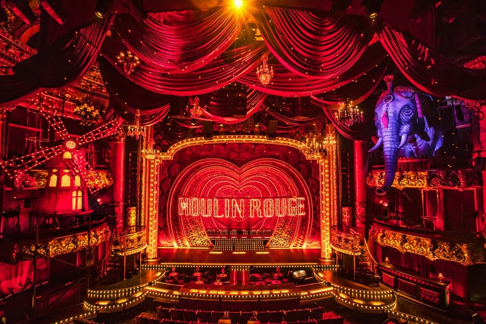 moulin rouge musical set